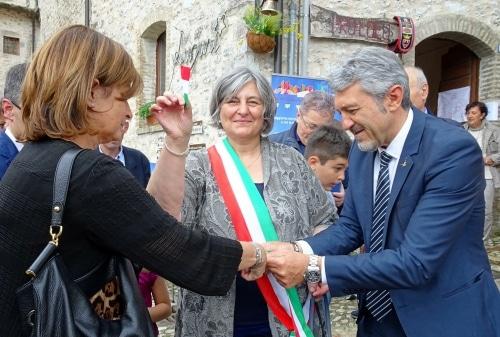 Inaugurazione Fior di Cacio in Vallo di Nera, Valnerina - Umbria