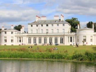 Frogmore House nella tenuta del Castello di Windsor, vedere a londra,