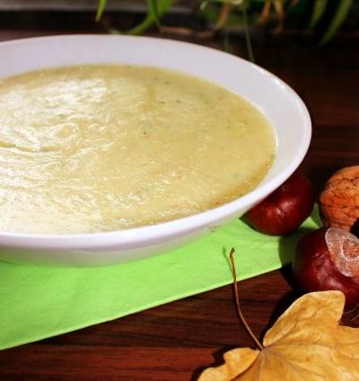 Zuppa vegetale, zuppa pastinaca, verdure antica