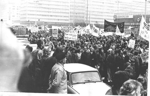 4 novembre 1989, Dimostrazione della RDT, Muro di Berlino
