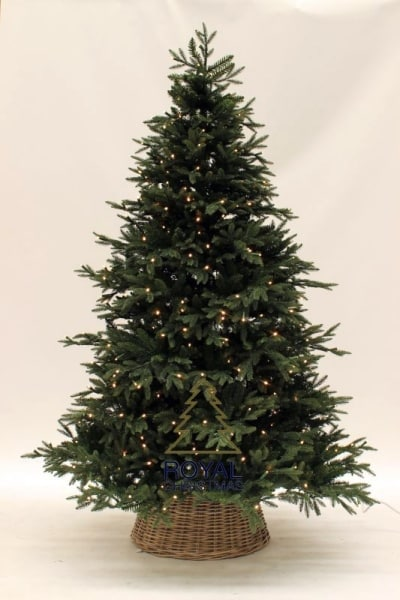 albero di natale artificiale con LED