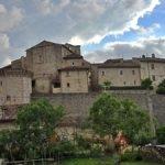vacanze, Vallo di Nera, affresco