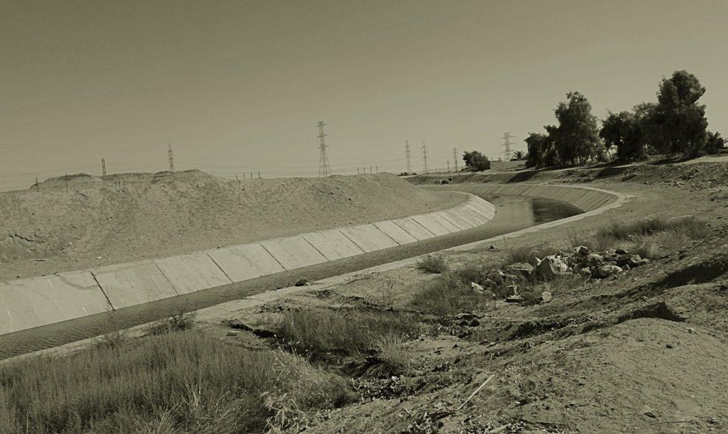 Irrigazione egiziano, Egitto, reportage